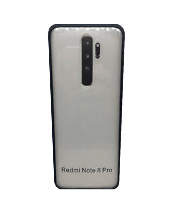 Capa Celular Transparente Borda Colorida Acrílico Xiaomi