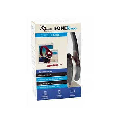 Headphone Super Bass Plug P2 Knup -313 KP-313