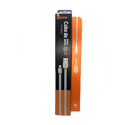 Cabo USB Basike V8 2.4A 30CM BA-CBO0029