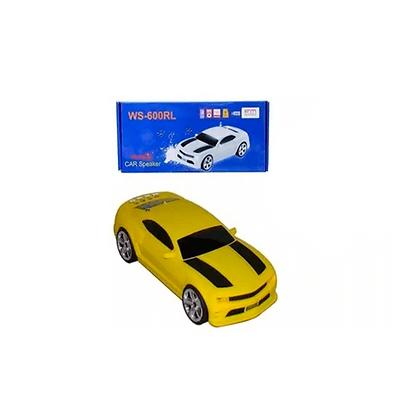 Caixa De Som Camaro Portátil WS-600RL Rádio FM USB Micro SD