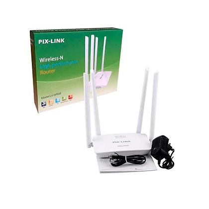 Roteador Pix-Link 4 Antenas LV-WR08