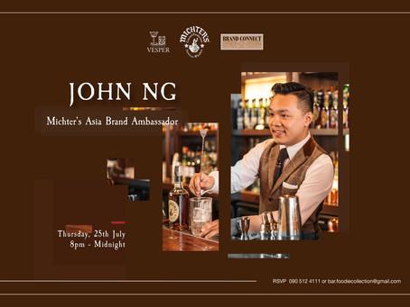 John Ng - Michter's Asia Brand Ambassador Takeover