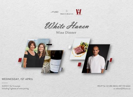 White Haven Wine Dinner