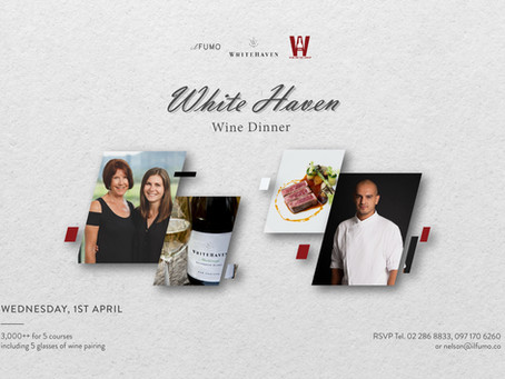 White Haven Wine Dinner