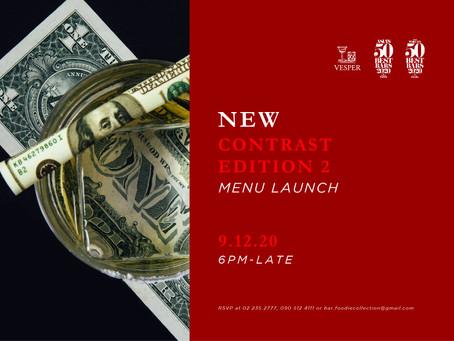 Contrast - Edition 2 Menu Launch Party