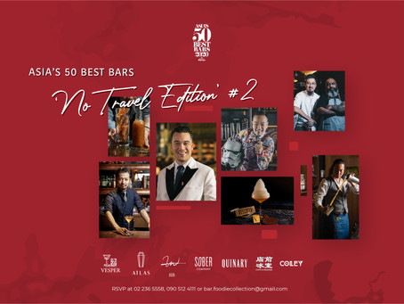 Asia's 50 Best Bars, No Travel: Edition 2