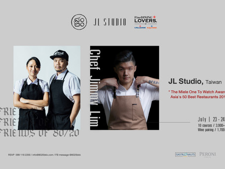 Friends of 80/20 Series: Chef Jimmy Lim of JL Studio