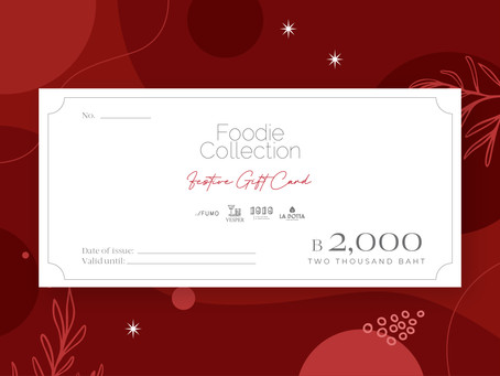 Foodie Collection Festive Gift Card