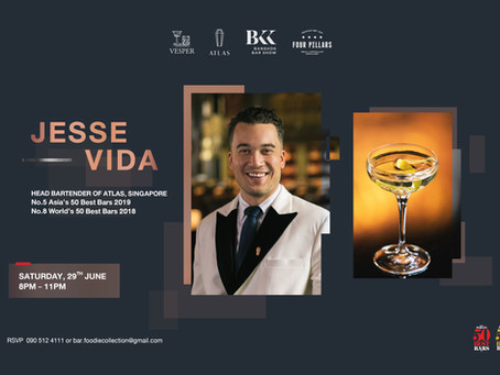 Jesse Vida Live in Bangkok!