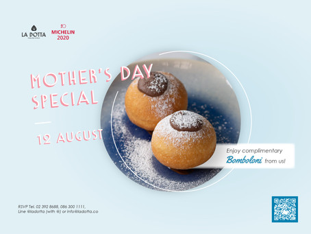 Mother's Day Special at La Dotta