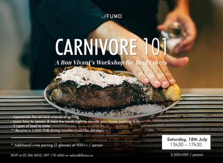 Carnivore 101 A Bon Vivant's Workshop for Beef Lovers