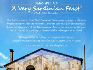 'A Very Sardinian Feast'