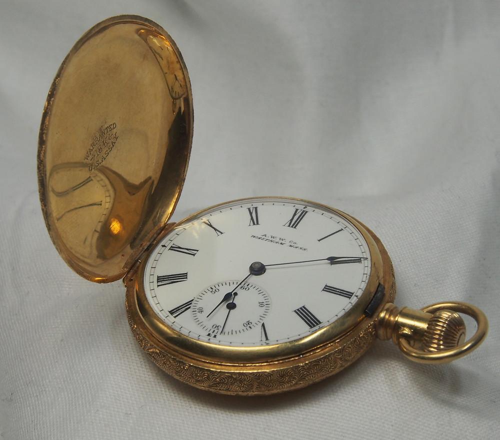 American Waltham Watch Co dial