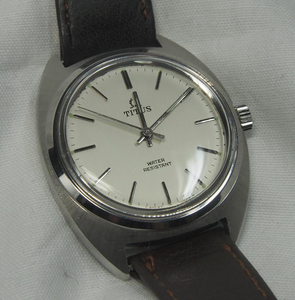 Titus vintage watch dial