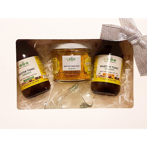 Organic Master Tonic and Master Tonic Salt gift set (small)