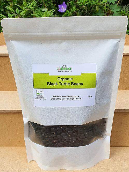 Organic Black Turtle Beans 750g