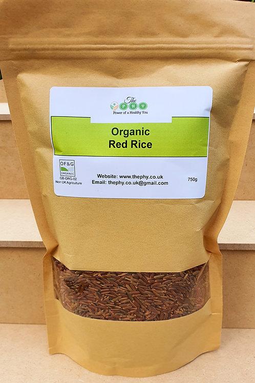 Organic Red Rice 750g