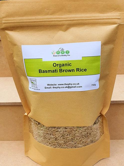 Organic Basmati Brown Rice 750g