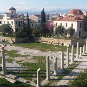 Bijzondere wijken in Athene
