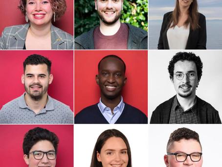 26 élu·e·s membres/sympathisant·e·s de la Jeunesse socialiste vaudoise lors des élections communales