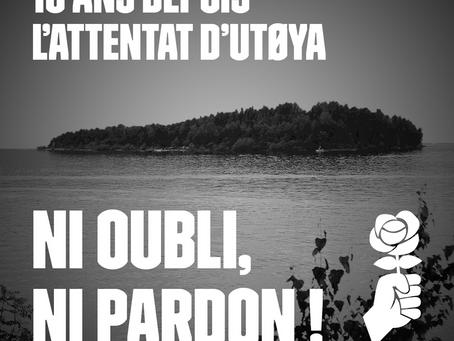 Utøya dix ans après : ni oubli, ni pardon