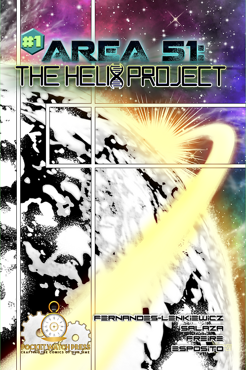 AREA 51: THE HELIX PROJECT #1 (Digital Edition)