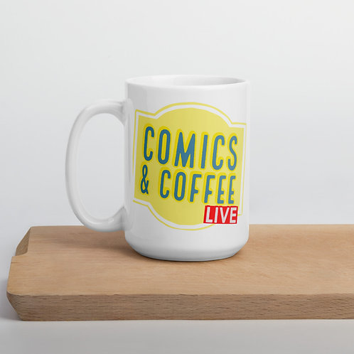 Comics & Coffee Mug
