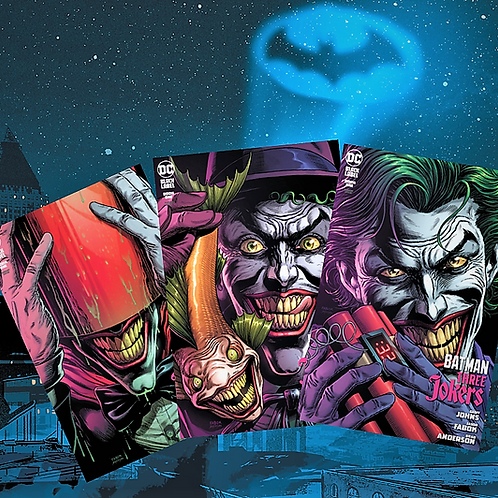 BATMAN Three Jokers #1 Premium Variant Cover Bundle