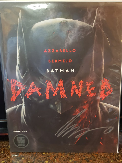 Batman: DAMNED #1 SIGNED by Brian Azzarello (W) | NM+