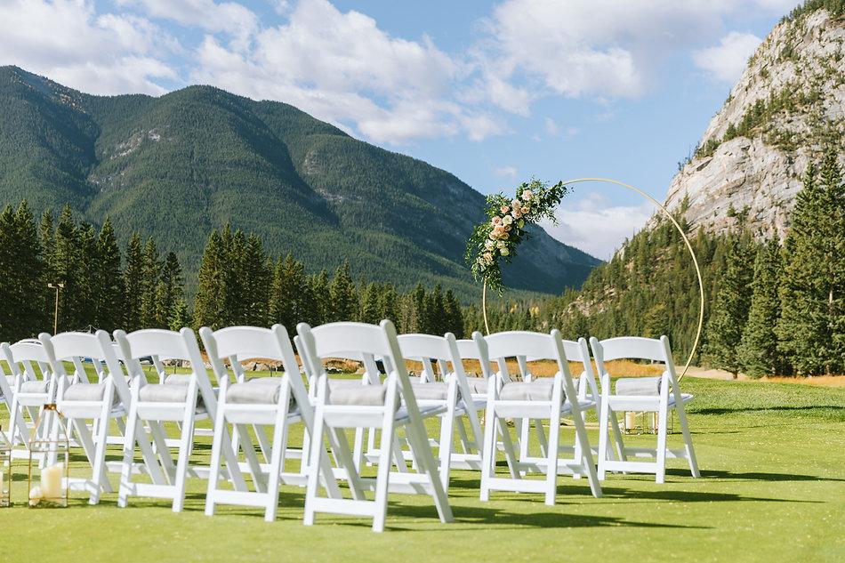 Fairmont Banff Springs - Summer - Weddin