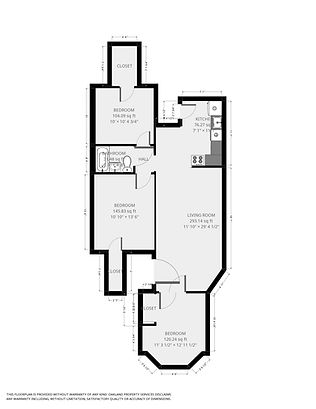 1447 Williamson St. #1 Floorplan