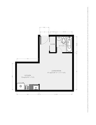 9 N. Hancock St. #5 Floorplan