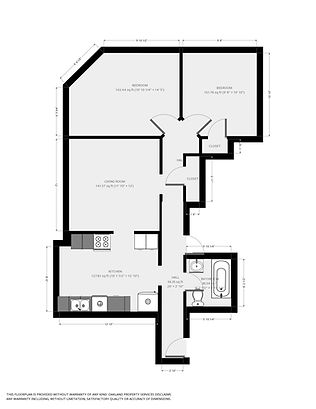 1201 Williamson St. Floorplan