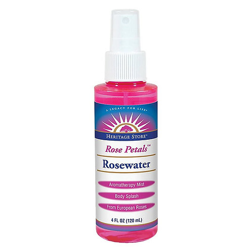 Heritage Store Rosewater (4oz)