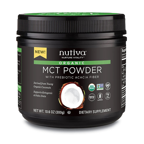 Nutiva MCT Powder (10.6oz)