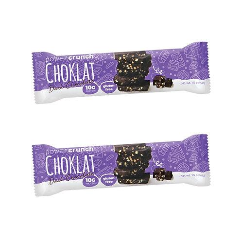 Power Crunch Dark Chocolate Bar (2 Pack)