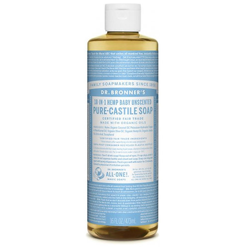 Dr. Bronner's Pure Castille Soap 16floz (Multiple Options)