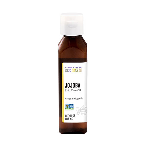 Aura Cacia Jojoba Oil (4oz)