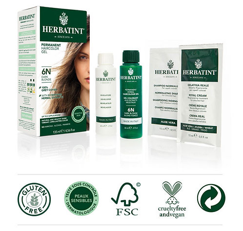 Herbatint Natural Hair Color (Multiple Options)