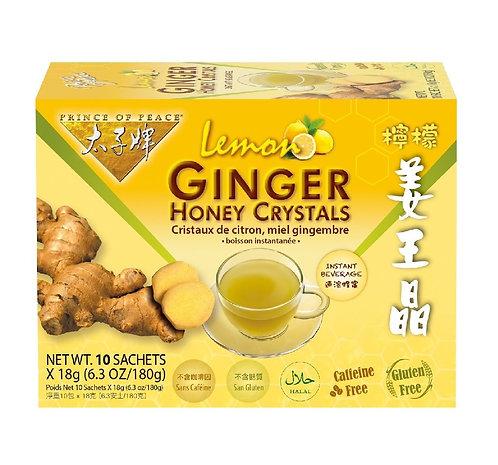 Lemon Ginger Honey Crystals