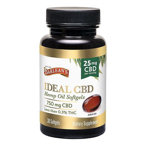 Barleans CBD Oil Softgels 25mg