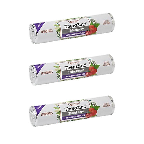 Therazinc Elderberry Zinc Lozenge (3 Pack)