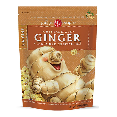 Crystalized Ginger Candy