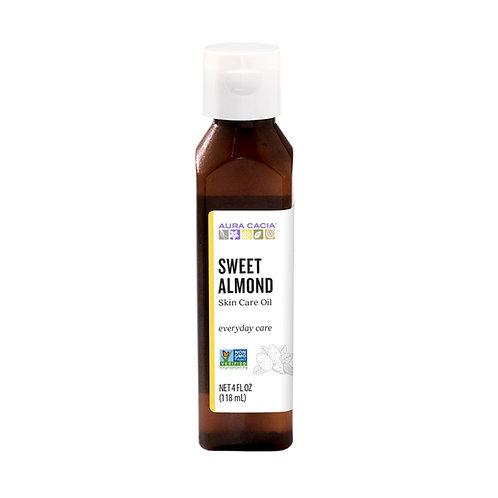 Aura Cacia Sweet Almond Oil (4oz)
