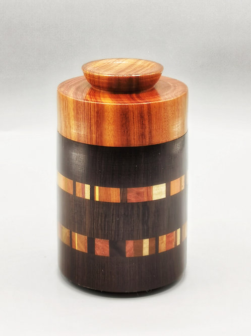 Project 018 - Handcrafted - Grenadilla - Mopane - Central wood segments