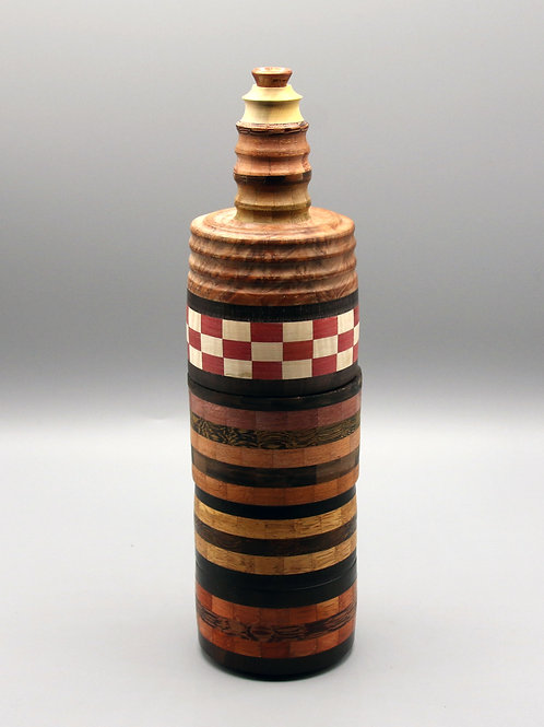 """Project 015 - Handcrafted - """"Africa"""" 21 wood species mostly from sub-saharian"""