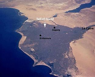 Site achéologique de Tell el-Iswid (Egyt)