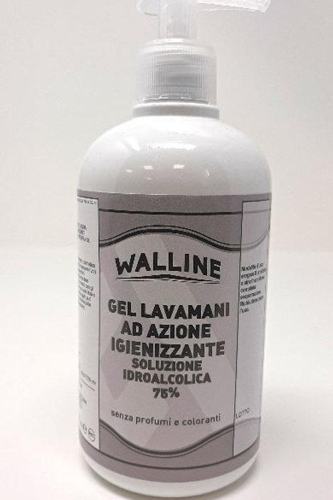 GEL 75% -  Scatola 12 pezzi flacone 500 ml + erogatore