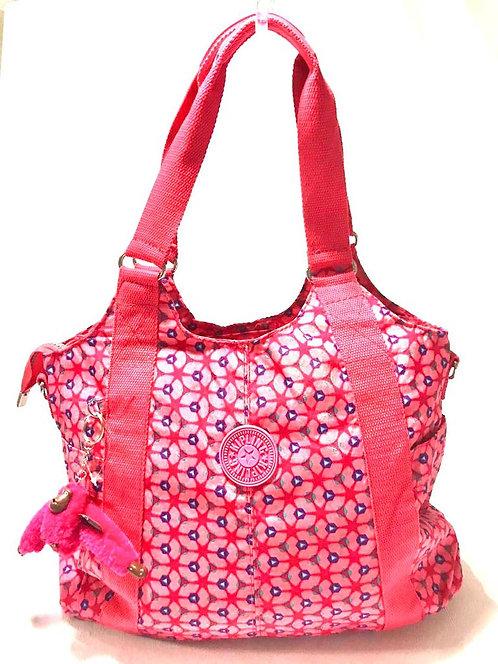 Bolsa Kipling Art - Rosa