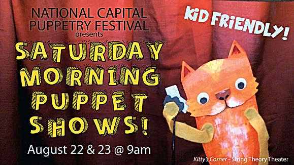 Saturday Morning Puppet Shows Poster v2-